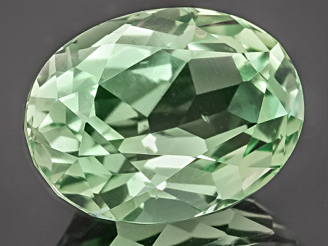 Green Tourmaline Untreated 9.35x7.07mm Oval 2.35ct