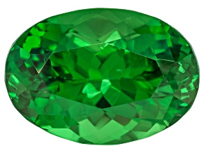 Garnet Tsavorite 10x7mm Oval 2.95ct
