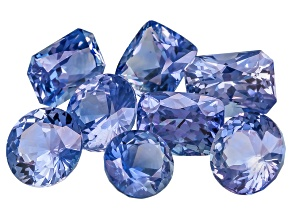 Sapphire Untreated Mixed Shape Set 5.01ctw