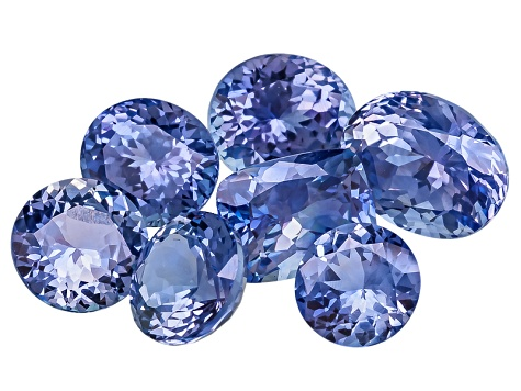Sapphire Untreated Mixed Shape Set 5.23ctw