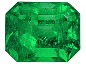 Emerald Colombian 12.77x10.29x9.00mm Emerald Cut 7.72ct