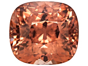 Pink Zircon 15.25x13.9mm Rectangular Cushion 21.52ct