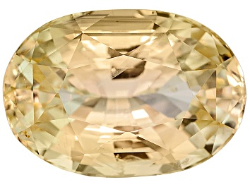 Picture of Yellow Sapphire Untreated 10.33x7.2x5.39mm Oval 3.56ct