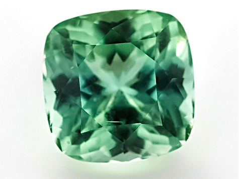 Green Tourmaline Untreated 7.82x7.77mm Square Cushion 2.53ct