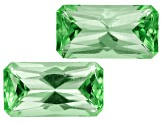 Tourmaline 8.5x4.6mm Rectangular Octagonal Matched Pair 2.14ctw