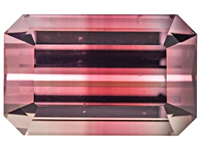 Bi-Color Tourmaline Untreated 11.26x7.13mm Emerald Cut 4.14ct