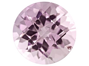 Bi-Color Tourmaline 10.68ct Round Checkerboard Cut 4.87ct