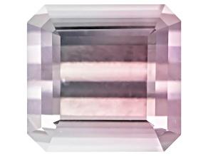 Bi-Color Tourmaline Untreated 10.09x9.67mm Emerald Cut 6.31ct