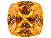 Garnet Spessartite 9.71x9.72mm Square Cushion 4.59ct