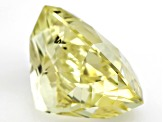 Triphane Yellow Spodumene 25.9x19.6mm Rectangular Octagonal Radiant Cut 66.63ct