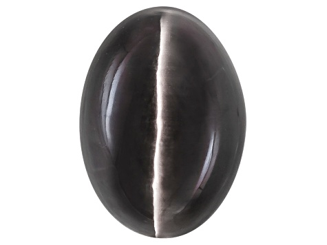 Sillimanite Cats Eye 11.62x8.36mm Oval Cabochon 7.56ct