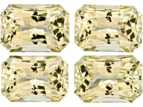Triphane Rectangular Octagonal Radiant Cut Set 208.19ctw