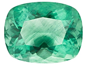 Green Fluorite Untreated 15.70x12.33mm Rectangular Cushion 12.76ct