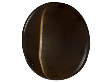 Picture of Kornerupine Cats Eye 10.22x8.80mm Oval Cabochon 4.18ct