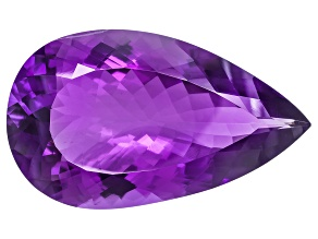 Amethyst 44x26mm Pear Shape 81.89ct