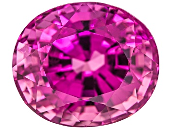 Picture of Pink Spinel 11.83x10.08mm Oval Mixed Step 7.63ct