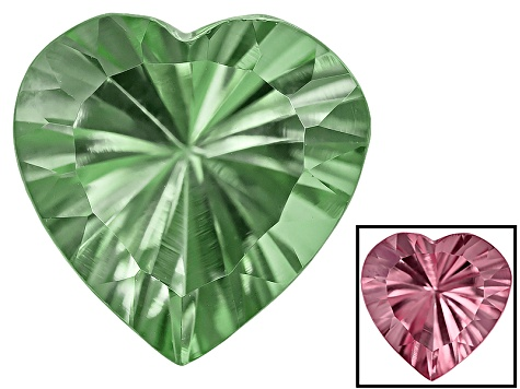Zandrite Color Change 10mm Heart Shape Quantum Cut 3.00ct