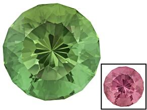 Zandrite Color Change 14mm Round Light Star Cut 9.70ct