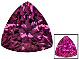 Cranberry Zandrite Color Change 14x14mm Trillion 10.50ct