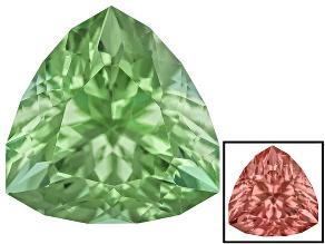 Green To Purplish Pink Zandrite Color Change 10mm Trillion Specialty Cut 3.25ct