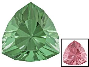 Green To Purplish Pink Zandrite Color Change 12mm Trillion Custom Cut 5.00ct