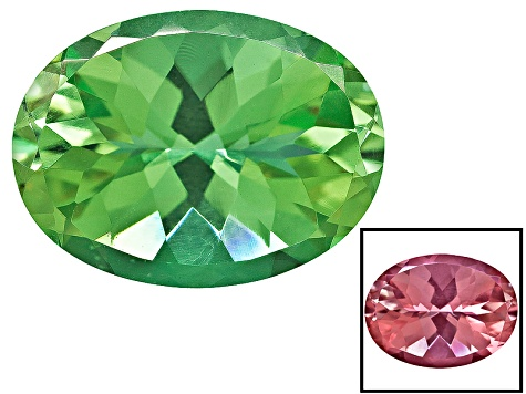 Color Change Zandrite ® Minimum 7.75ct 16x12mm Oval Universal Cut