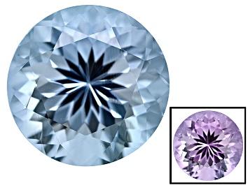 Picture of Blue To Lavender Zandrite Color Change 10mm Round 3.50ct