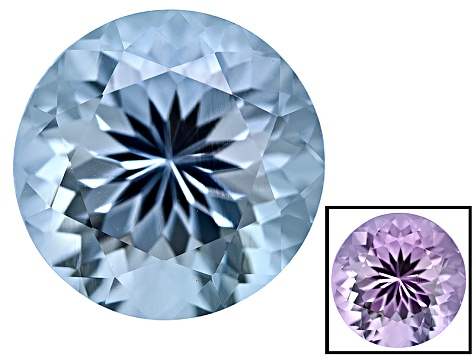 Blue To Lavender Zandrite Color Change 10mm Round 3.50ct