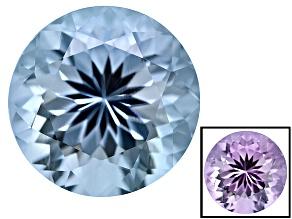 Blue To Lavender Zandrite Color Change 10mm Round 3.50ct