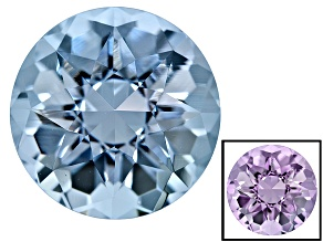 Blue To Lavender Zandrite Color Change 12mm Round 5.75ct