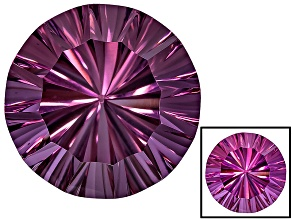 Lab Created Color Change Cranberry Zandrite 10mm Round Minimum 3.75ct