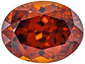Orange Zircon Oval 5.00ct