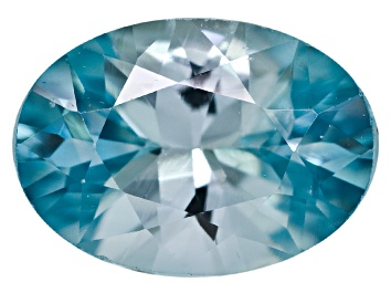 Picture of Blue Zircon 7x5mm Oval 1.00ct