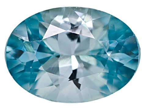 Blue Zircon 7x5mm Oval 1.00ct