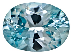 Blue Zircon 8x6mm Oval1.60ct