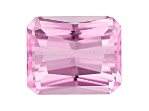 Kunzite 11x9mm Rectanglular Octagonal Radiant Cut 5.84ct