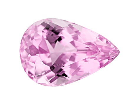 Kunzite 18x12mm Pear Shape 11.90ct