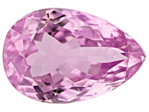 Kunzite 7.65ct 15x10mm Pear Trtd Mined: Afghanistan / Cut: india
