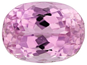 Kunzite 8.37ct 13.5x10.0mm Oval Trtd Mined: Afghanistan / Cut: india