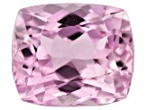 Kunzite 8.53ct 12.5x10.5mm Rectangular Cush Trtd Mined: Afghanistan / Cut: india