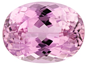Kunzite 9.56ct 14.5x11.5mm Oval Trtd Mined: Afghanistan / Cut: india