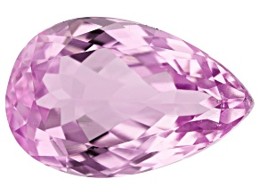 Kunzite 9.64ct 17x11mm Pear Trtd Mined: Afghanistan / Cut: india