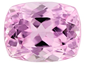 Kunzite 10.35ct 13.5x10.5mm Rect Cushion Trtd Mined: Afghanistan / Cut: india
