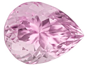Kunzite 13.82ct 17.0x13.0mm Pear Trtd Mined: Afghanistan / Cut: india