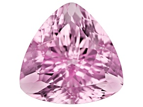 Kunzite 43.35ct 23mm Triangle Trtd Mined: Afghanistan / Cut: india