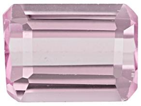 Kunzite 1.70ct 8x6mm Rect Octagon Trtd Mined: Afghanistan / Cut: india