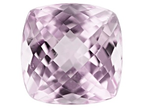Kunzite 2.40ct 8mm Square Cushion Trtd Mined: Afghanistan / Cut: india