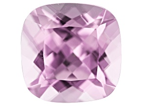 Kunzite 2.57ct 8mm Square Cushion Trtd Mined: Afghanistan / Cut: india