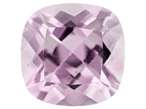 Kunzite 2.73ct 8.3mm Square Cushion Trtd Mined: Afghanistan / Cut: india