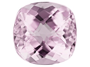 Kunzite 3.89ct 9.5mm Square Cushion Trtd Mined: Afghanistan / Cut: india